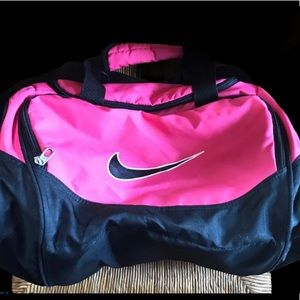 Nike duffle Bag Black & Pink